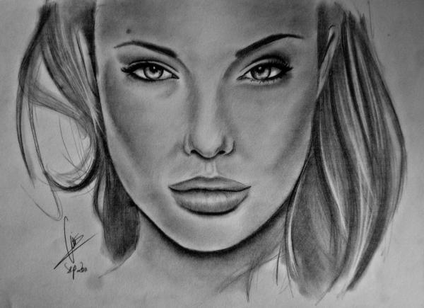 Angelina Jolie par LuisBittini